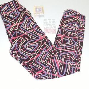 Lularoe  Multicolored Leggings Tween